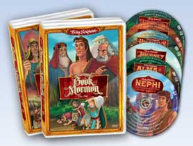 The Animated Book of Mormon 13 DVD Set